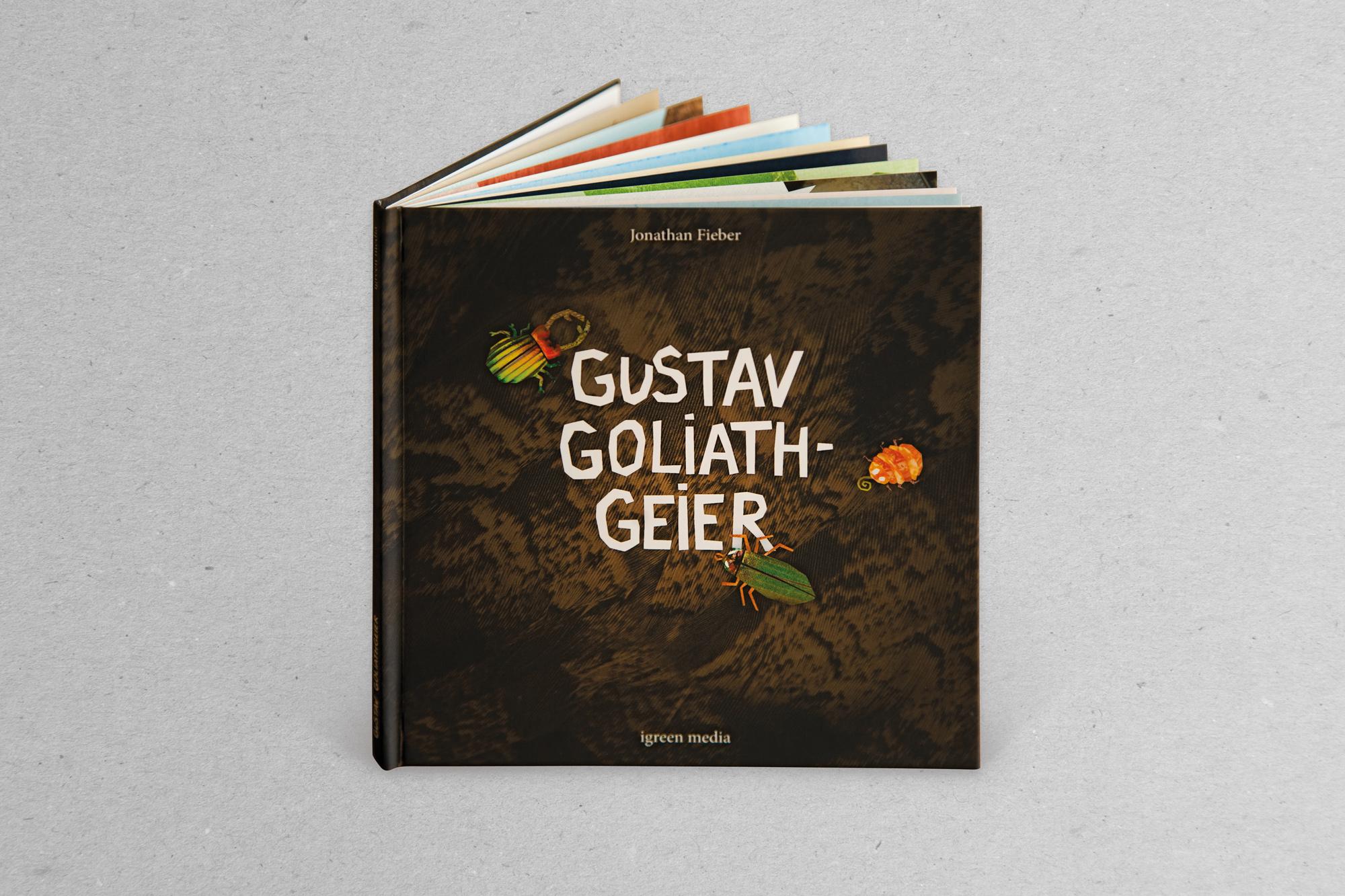 Gustav Goliathgeier Kinderbuch 01