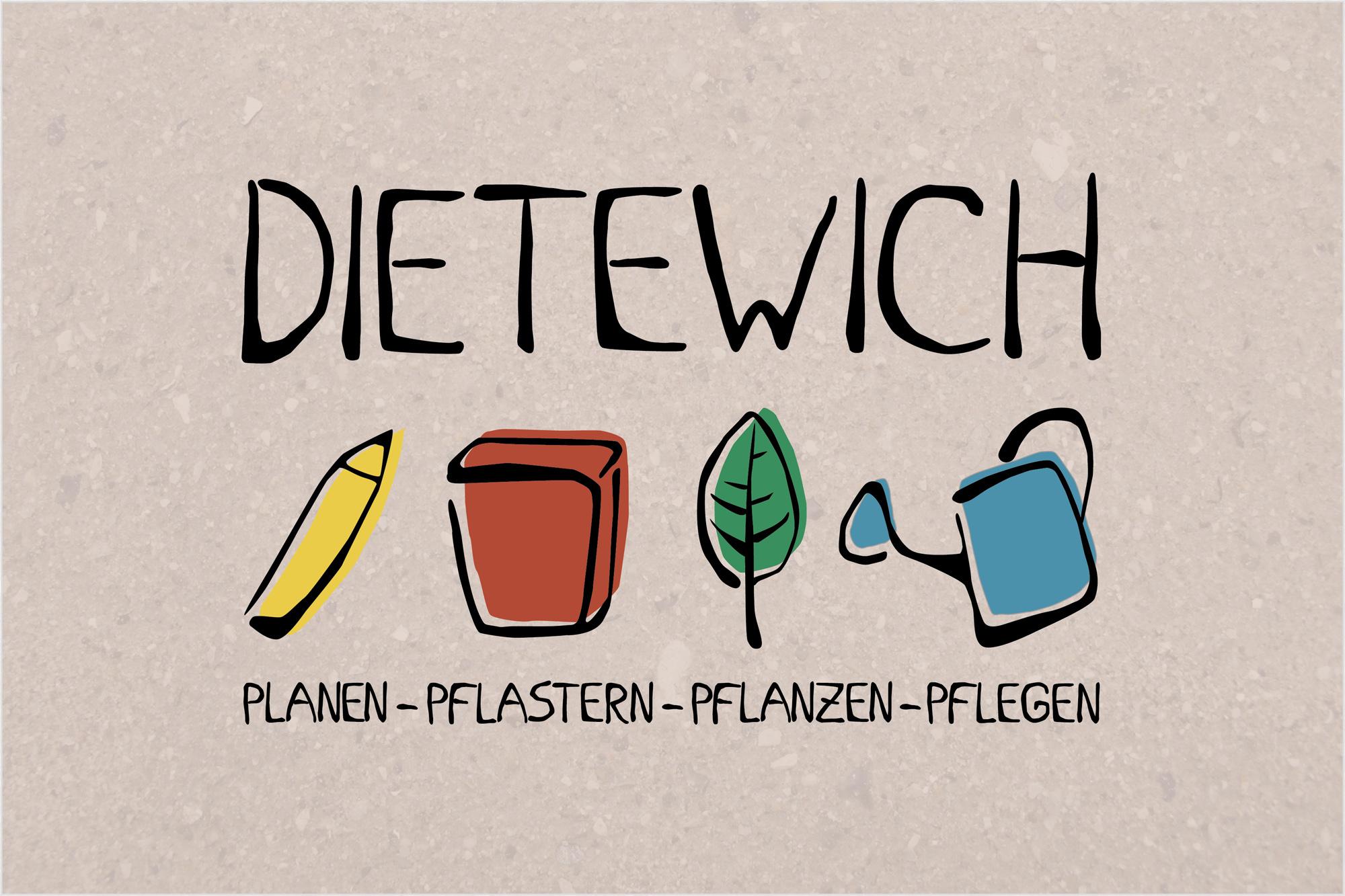 Dietewich Garten Logo